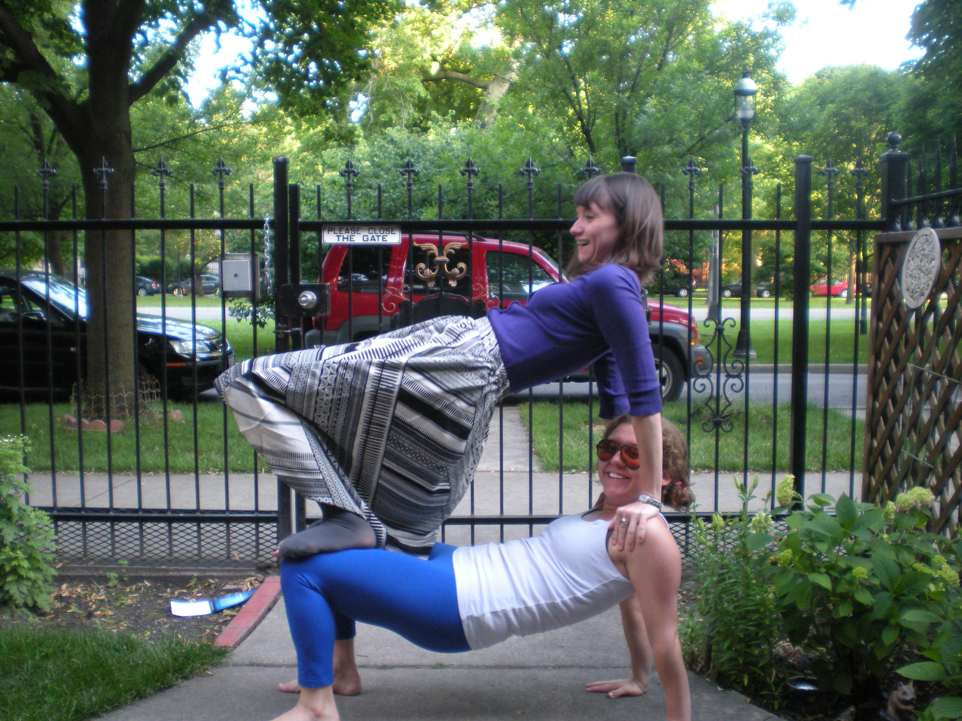 Bed Bunk Bed Yoga Pose